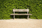 The lonely bench — Stock Photo