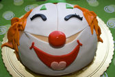 Clown Cake — Stock Photo