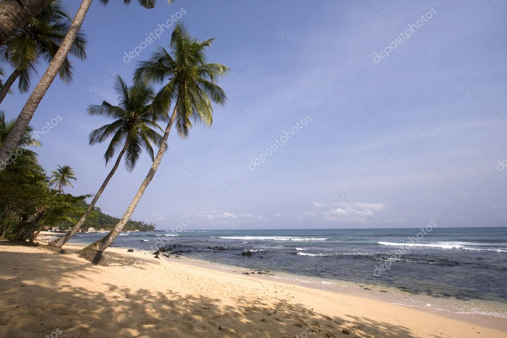 Summer paradise landscape as a travel destination  Stock Photo #8672052