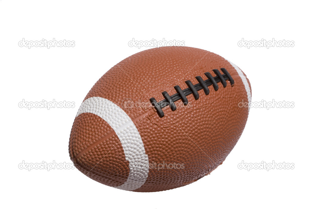 A football ball isolated on white background — Stock Photo #8673181