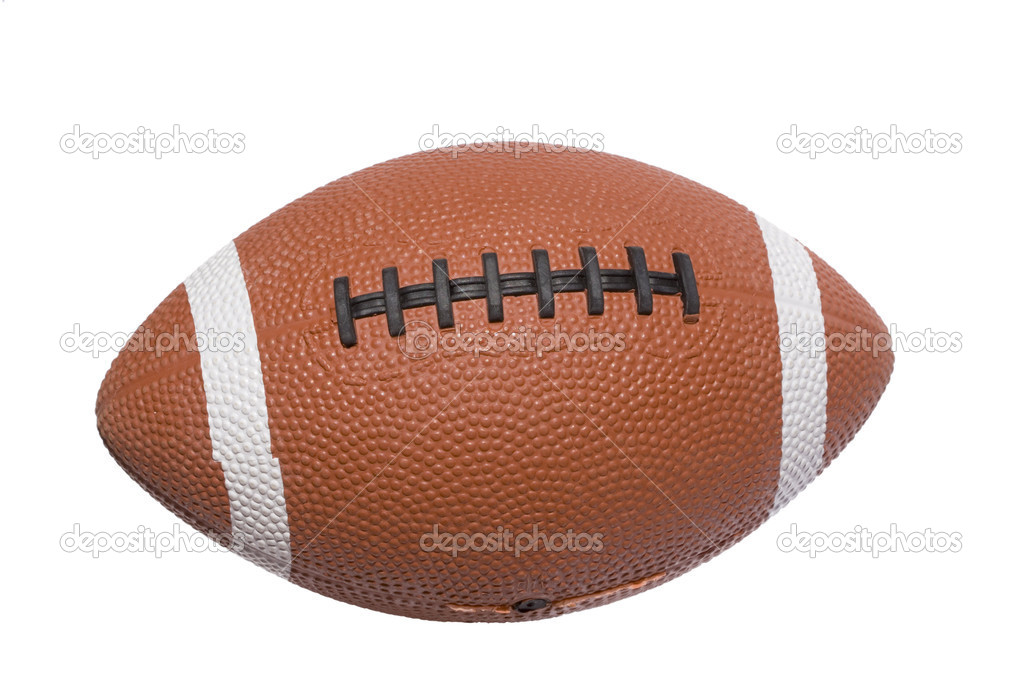 A football ball isolated on white background — Stock Photo #8673191