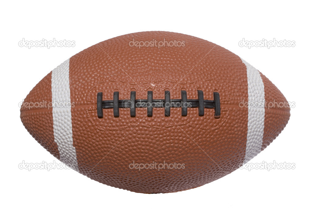 A football ball isolated on white background — Stock Photo #8673194