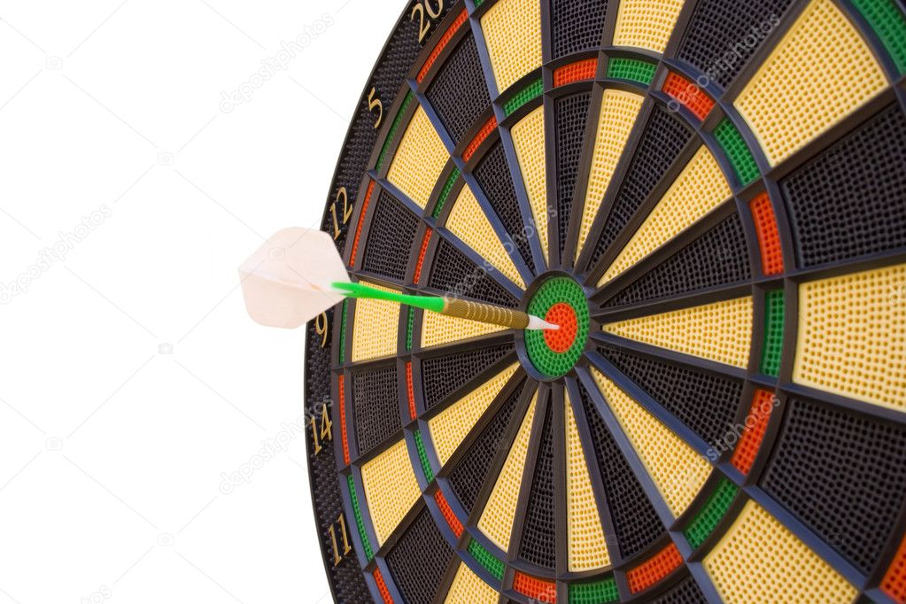 Make your way to success, hit the target — Stock Photo #8673357