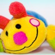 Soft colored toy smile — Stock Photo #8085844