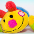 Stock Photo: Soft colored toy smile