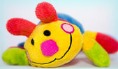 Soft colored toy smile — Stock Photo
