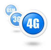 4G telecomunication progress concept illustration — Stock Photo