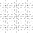 Stock Photo: Puzzle background template 8x6