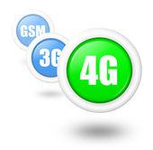 4G telecommunication progress concept illustration — Stock Photo