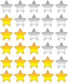 Rating stars survey — Stock Photo
