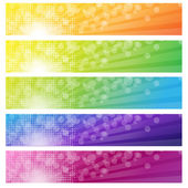 Banners Set — Stock Vector