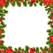 Xmas Border — Stock Vector