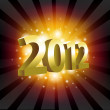 Year 2012 — Stock Vector