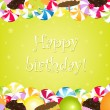 Birthday Card — Stock Vector #8233083