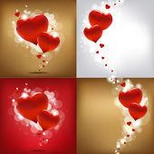 Alla hjärtans dag gard ange — Stockvektor