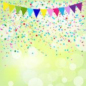 Birthday Poster — Stock Vector