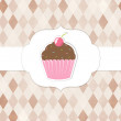CVintageCupcakesPinkLabels-10-M [Converted] — Stock Vector