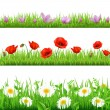Royalty-Free Stock Vector Image: Flower Set