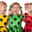 Polka dot fun — Stock Photo