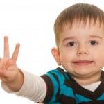 I am three! — Stock Photo