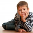 Miserable kid — Stock Photo
