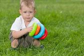 Educazione sull'erba — Foto Stock