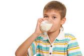 здоровый образ жизни с молоком — Стоковое фото