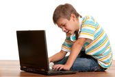 Computerised child — Stock Photo