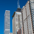 Skyscrapers of the city of Chicago — Stock Photo