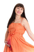 Charming pregnant lady — Stock Photo