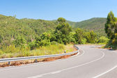 Mountainous road in Portugal — Stock Photo
