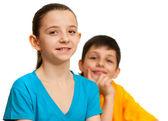 Smiling children are fine — Foto de Stock