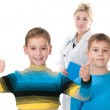 Two little patients — Stock Photo #8721224