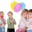 Relations in early childhood — Stock Photo