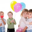 Stock Photo: Relations in early childhood
