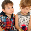 Foto Stock: Relationships of children