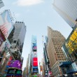 Times Square in New York - Stock Photo
