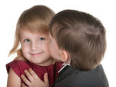 Young admirer — Stock Photo