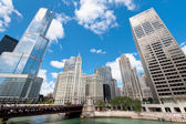 Center of Chicago — Stock Photo