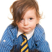 Cute młody biznesmen — Zdjęcie stockowe