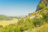 Panoramic view on the Crimea valley — Stock Photo