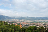 View on Granada city from Alhambra — Stock Photo