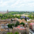 Great vew of the city of Seville - Stock Photo