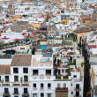 Roofs of Seville - 图库照片