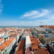 Red roofs of Lisbon — Stock Photo