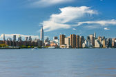View of NY in the early evening — Stock Photo