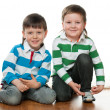 Stock Photo: Fashion little boys