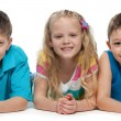 Smiling children — Stock Photo