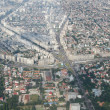 Bucharest, aerial view — Stock Photo