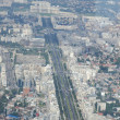 Bucharest, aerial view — Foto de Stock